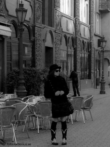 Street Photo - Lady in black