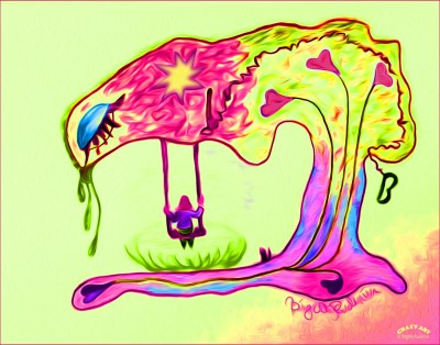 Crazy Art by me - Swaying in life