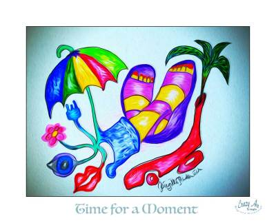Crazy Art by blogfia - Time for a Moment