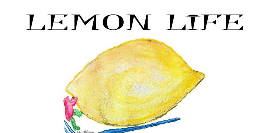 Crazy Art by me - Lemon Life
