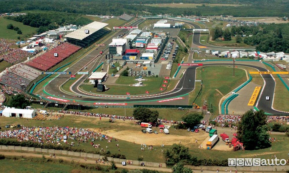 HUNGARORING CIRCUIT Hungary F1