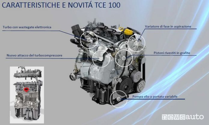 1.0 TCe 100 ECO-G engine