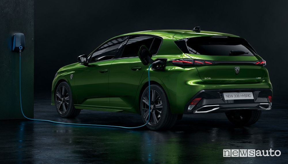 New 308 Hybrid plug-in hybrid from 36,750 euros