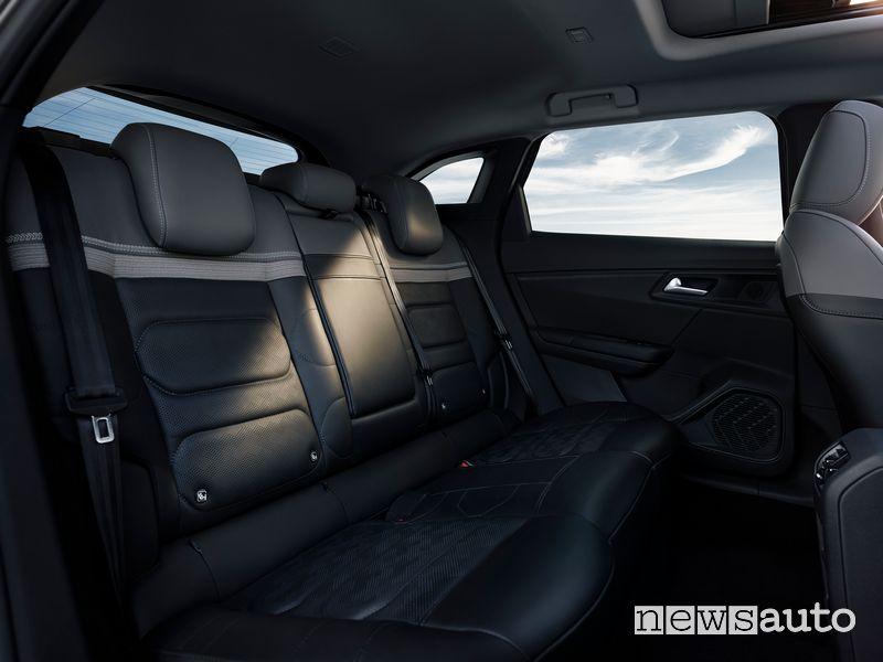 New Citroën C5 X interior rear seats