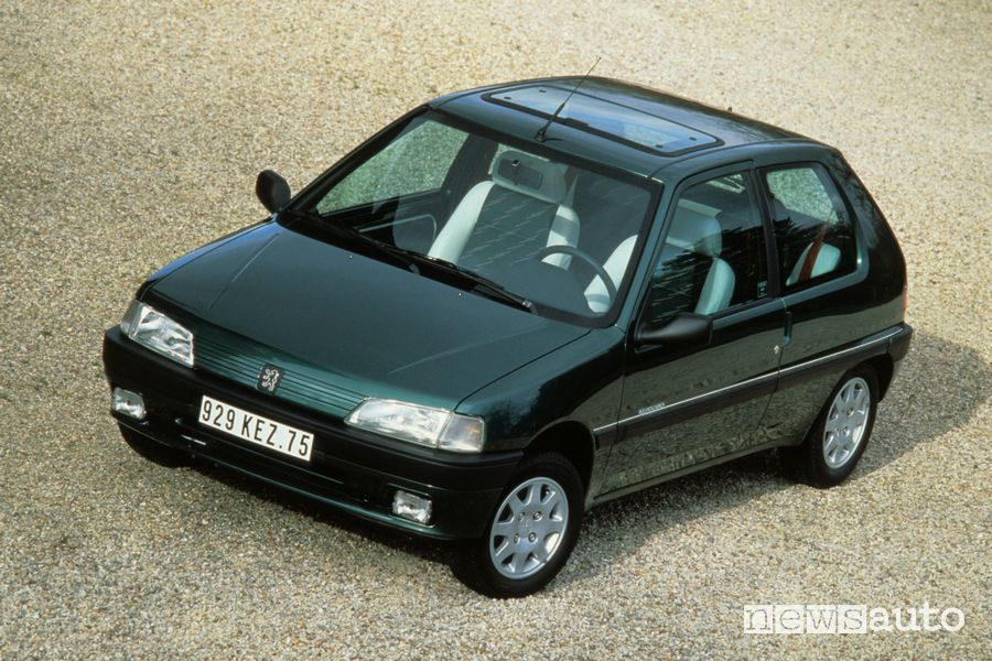 Peugeot 106 Roland Garros from 1993