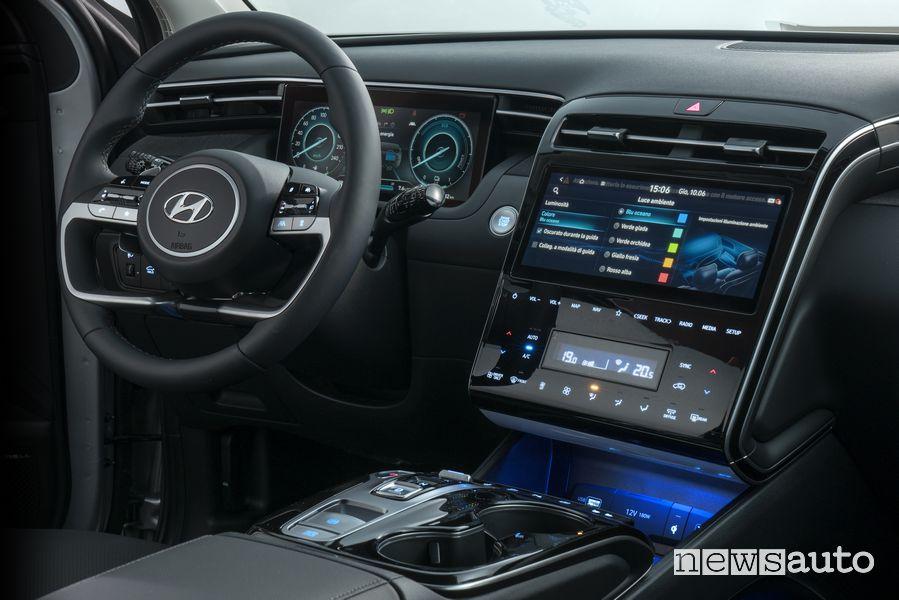 New Hyundai Tucson Plug-in Hybrid cockpit instrument panel