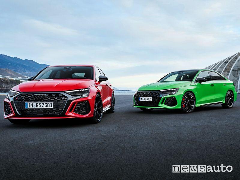 New Audi RS 3 Sportback and Audi RS 3 Sedan