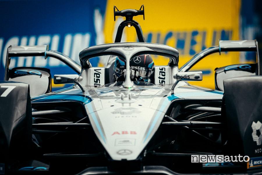 Nyck de Vries MercedesEQ Formula E ePrix London race 2