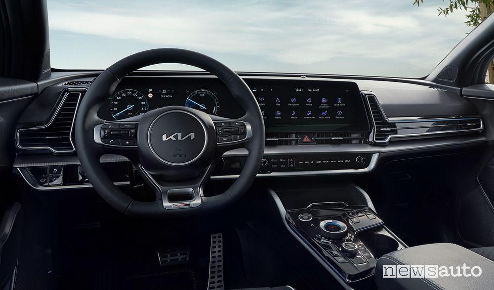New Kia Sportage GT Line cockpit instrument panel