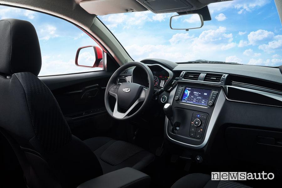 Mahindra KUV100 NXT cockpit