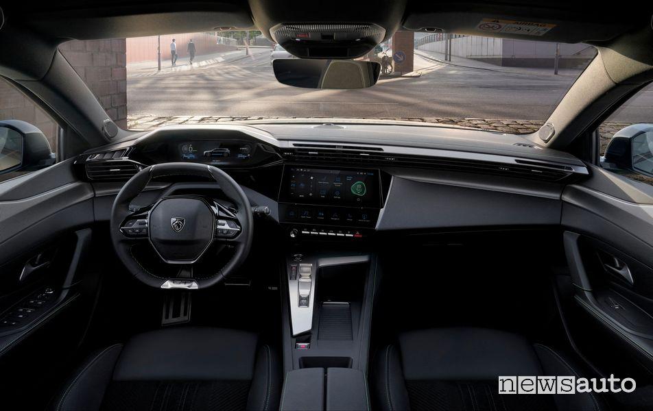 New Peugeot 308 SW cockpit instrument panel