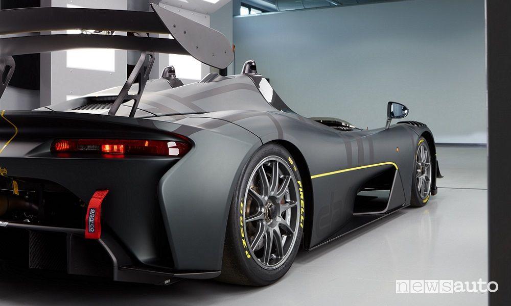 Dallara EXP rear view
