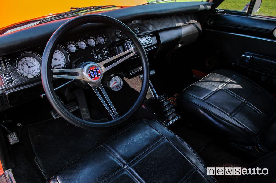 General Lee Hazzard turbo cockpit steering wheel