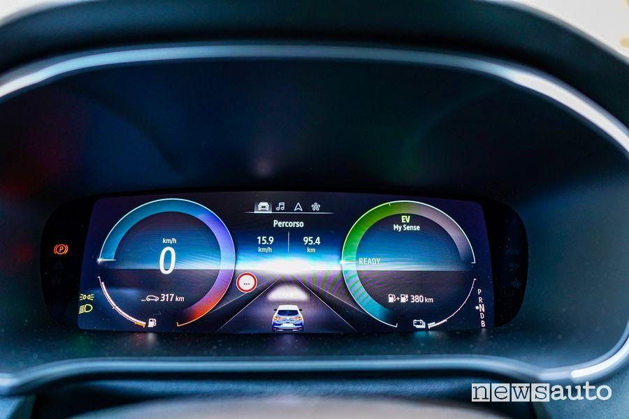 Dashboard Renault Mégane E-Tech Plug-in Hybrid RS Line