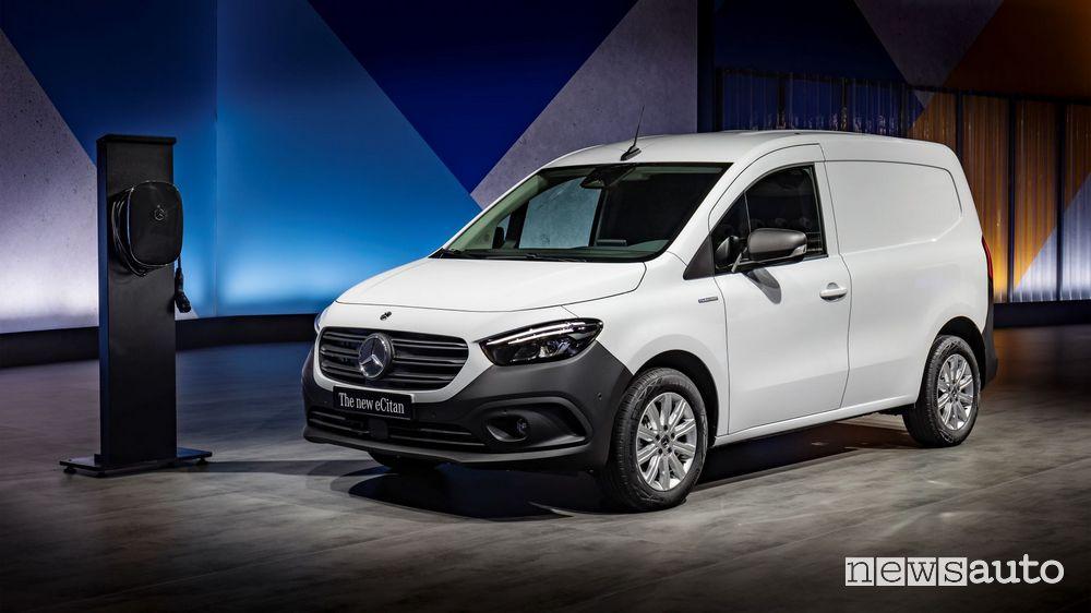 Presentation of the new electric Mercedes-Benz eCitan