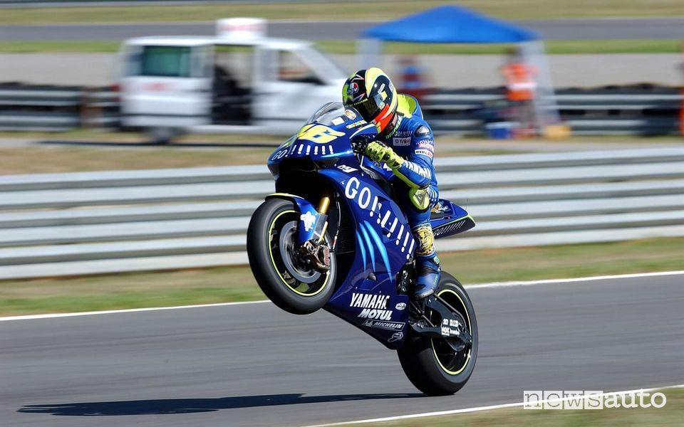 Valentino Rossi wins in MotoGP