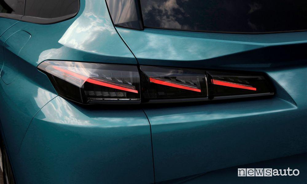 Full LED rear headlights new Peugeot 308 SW
