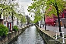 Delft Canal, Delft, Netherlands