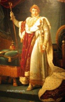 Portrait of Emperor Napoleon 1 by Baron Gerard (1770-1837)