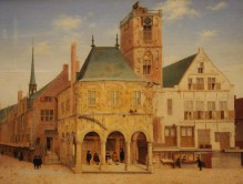 The Old Town of Amsterdam by Pieter Jansz Saenredam