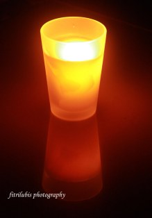 Reflection of Candle