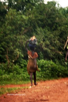 Girl Vendor. Location: Uganda