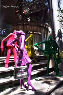 Statues at ION Orchard