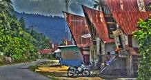 Batak Traditional Village in Muara, Balige