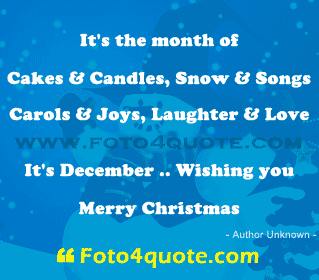Christmas Cards Its Month Of Cakes Candles And