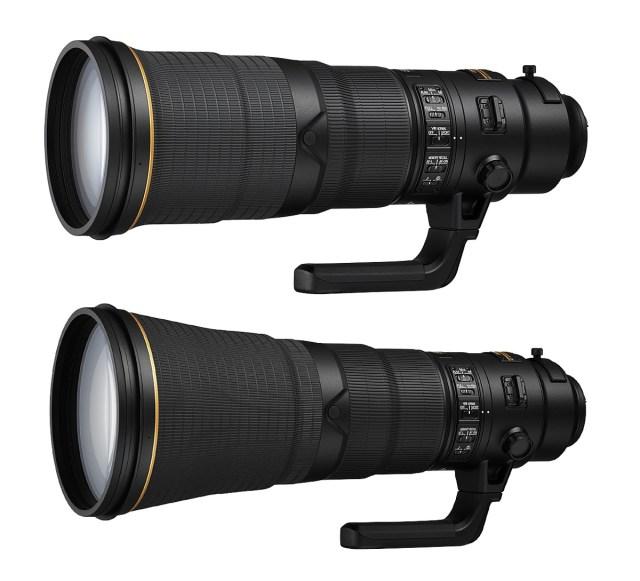 AF-S NIKKOR 500mm och 600mm f/4E FL ED VR