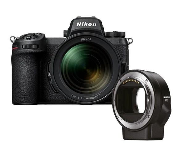 Nikon Z 7 II + Nikkor Z 24-70mm f/4 S + FTZ Adapter