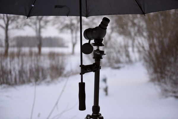Paraplyhållare för stativ