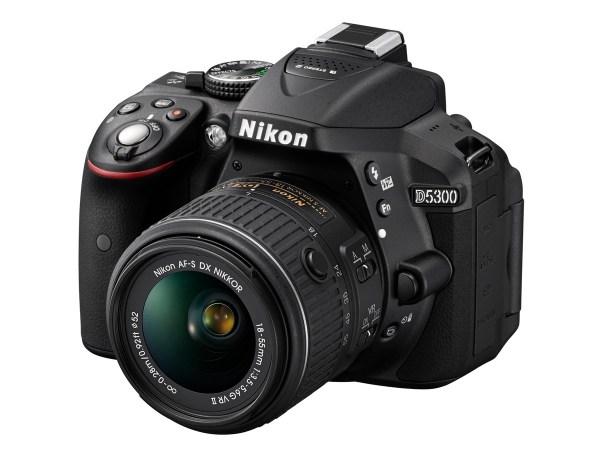 Nikon D5300 kit med AF-S 18-55