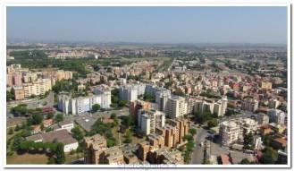 zona di Roma, foto con drone multirotore