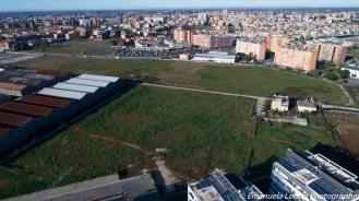 Foto aerea con drone