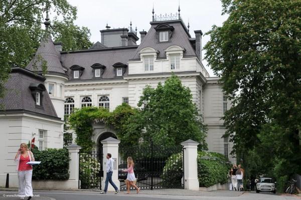Die Villa von Modesch246pferin Jill Sander in Hamburg