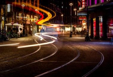 Lichtstreifenbilder in Strassburg