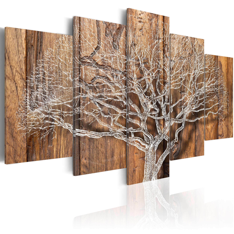 Wandbilder xxl Baum Natur Holz 200x100 Leinwand Bilder Wohnzimmer b-C-0046-b-n eBay