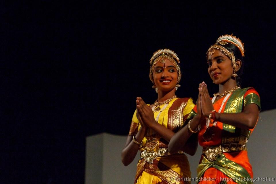 Bharatanatyam Aufführung