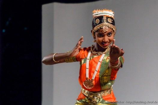 Bharatanatyam Tänzerin