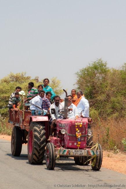 Öffentlicher Nahverkehr India-style