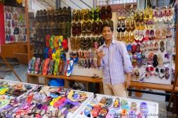 Schuhhändler in Hubli
