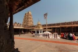 Innenhof Virupaksha Tempel