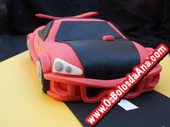Bolo Carro Hot Wheels - Hot Wheels Cake