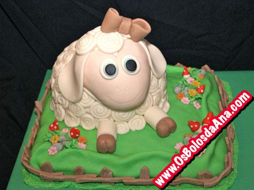Sheep Cake - Bolo Ovelha