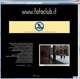 2005.terza versione del nostro sito web
