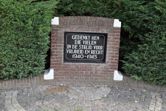 oorlogs monument (2014)
