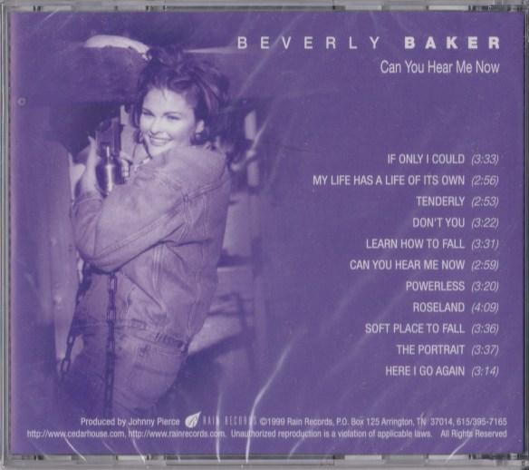 beverly baker cd back
