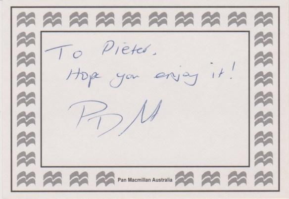 p.d. martin sticker
