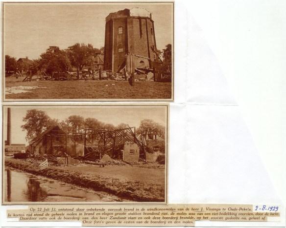 Oude Pekela - Vissinga 22-8-1929